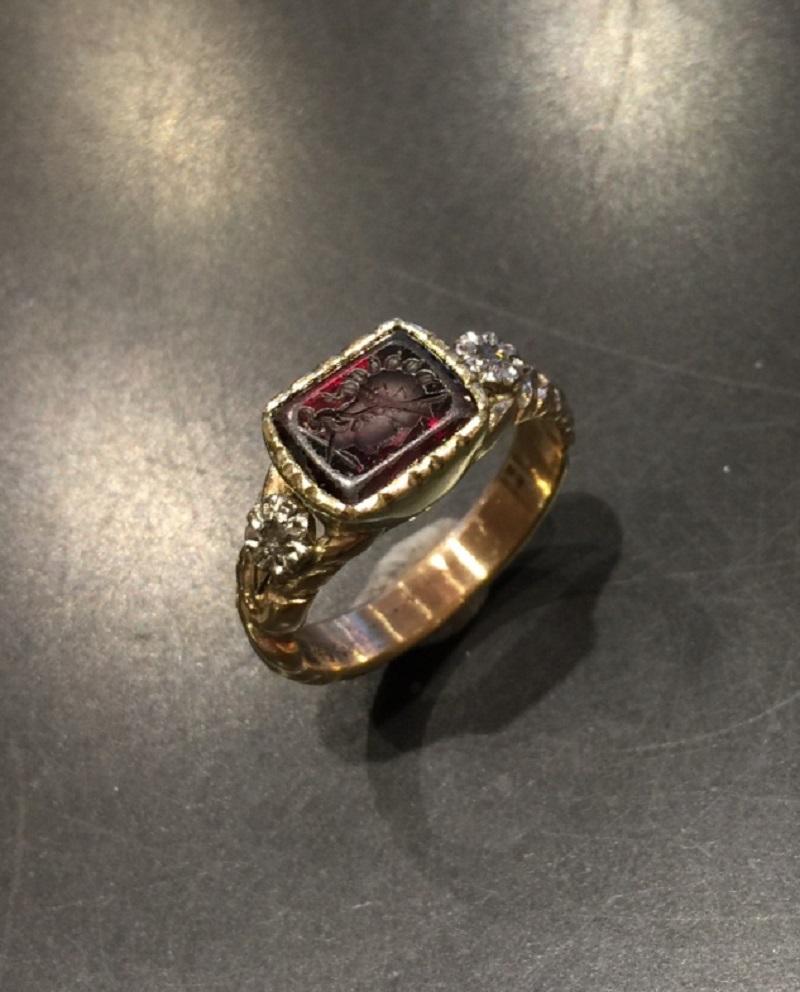 Replik Ring 18 Jahrhundert Stefani Köster