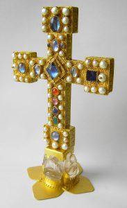 Replik des Parusie-Altarkreuzes aus Münster
