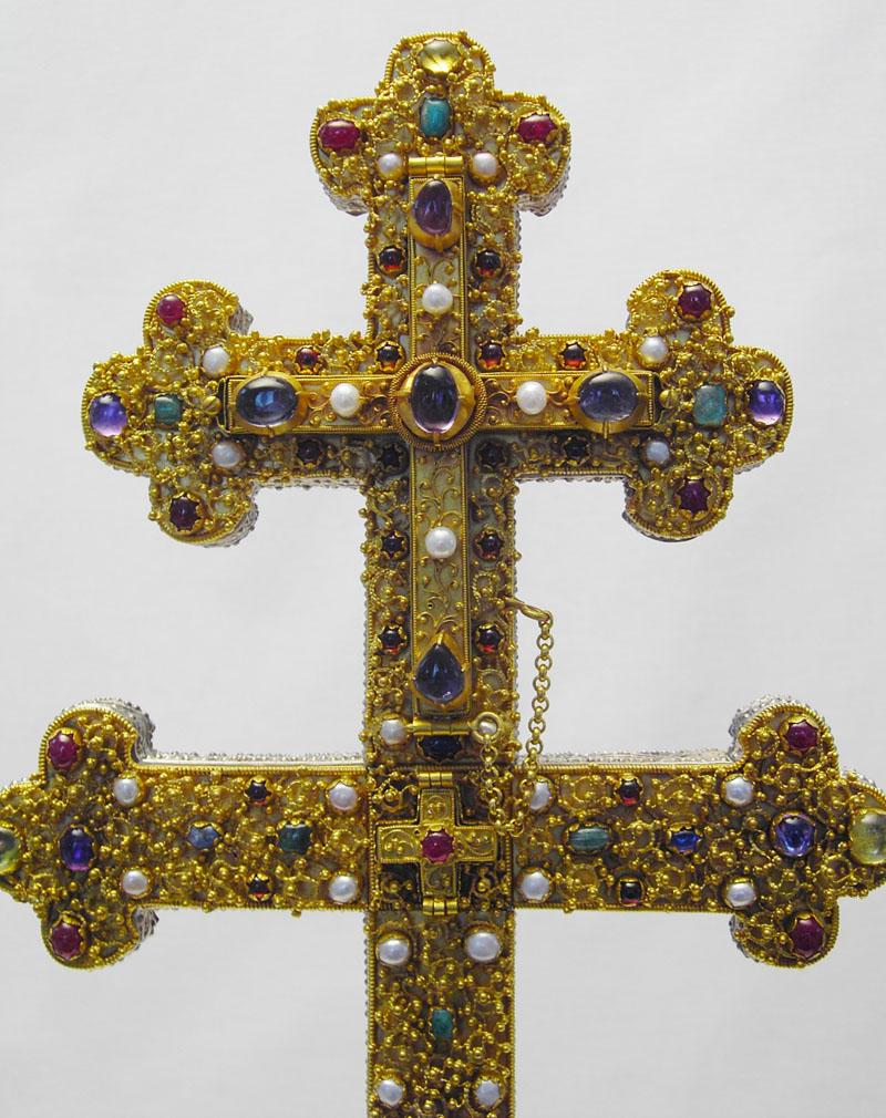Detail Äbtissinnenkreuz