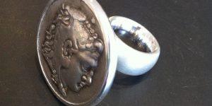 Münzring Alexanders des Großen