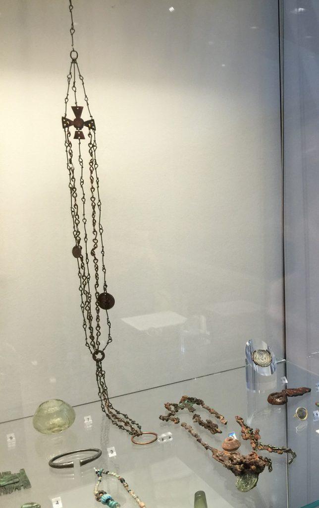 Nachbildung fränkisches Gürtelgehänge Stefani Köster