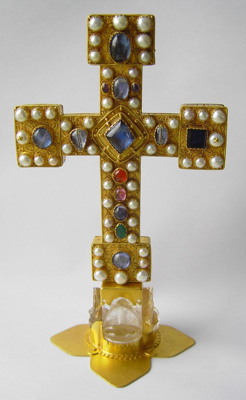 Replik Reliquienkreuz Münster