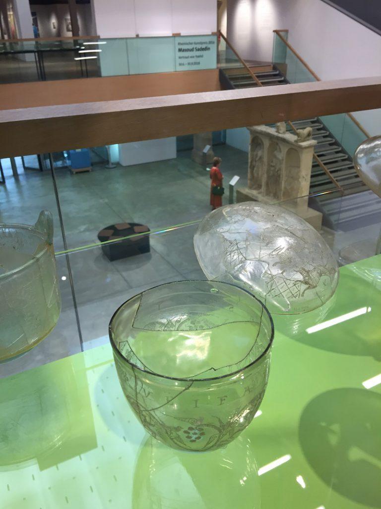 Objekt nach Restaurierung im Museum