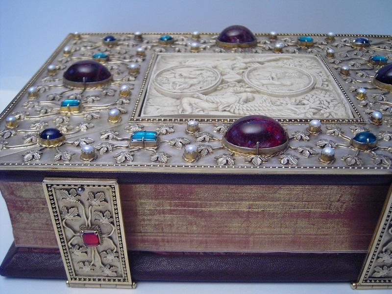 Prachteinband für ein Missale Romanum
