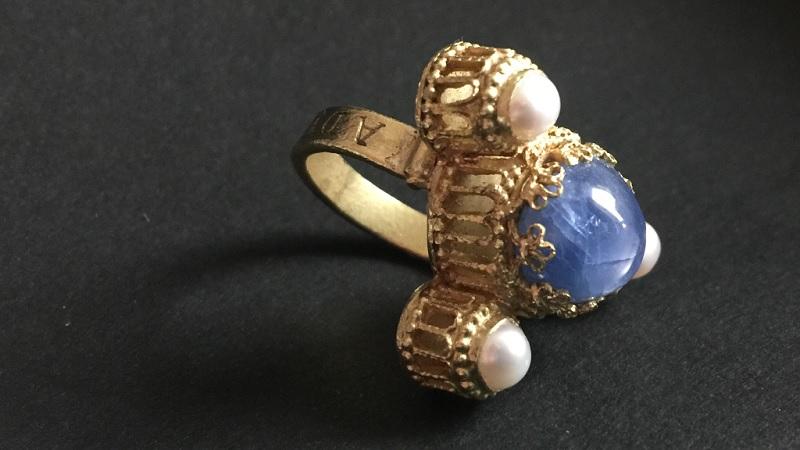 Ring Adelbero Heinrich IV Canossa