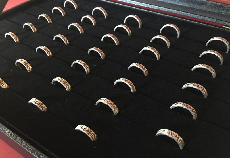 Ring-Repliken für den Museumsshop