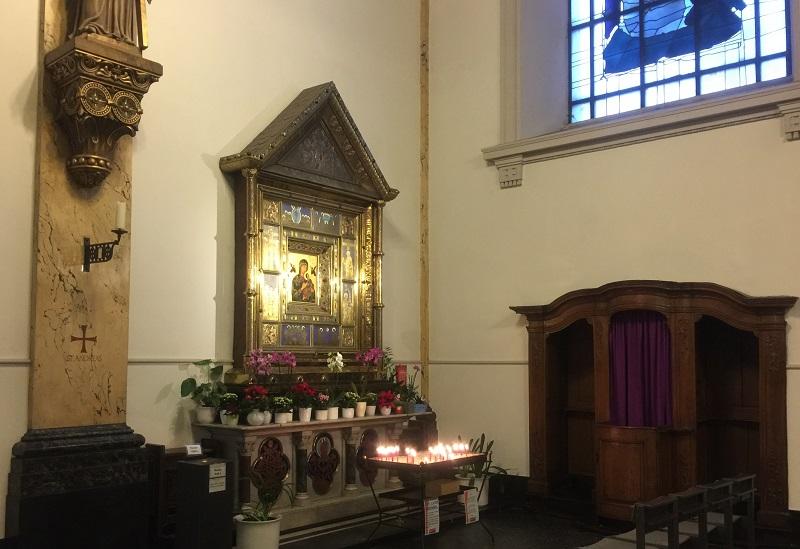 Restaurierungskonzept Marienaltar Krefeld