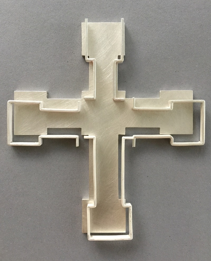 Lateinisches Silberkreuz