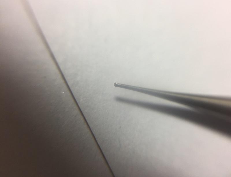 Fräskopf zur Schriftgravur