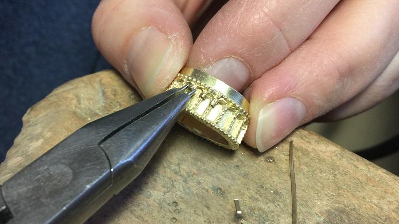 Anfertigung Mittelalter Ring